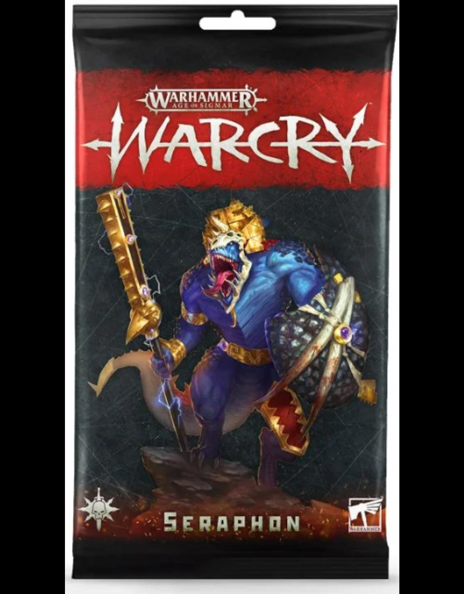 Games Workshop Warhammer Age of Sigmar: Warcry Seraphon Card Pack