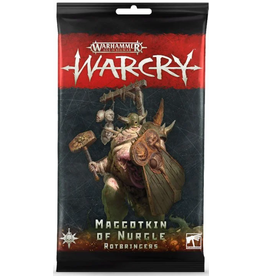 Games Workshop Warcry: Maggotkin of Nurgle Rotbringers Card Pack