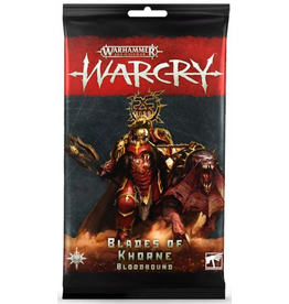 Games Workshop Warcry: Blades of Khorne Bloodbound Card Pack