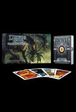 Albino Dragon Playing Cards: Dragon Tome Gift set