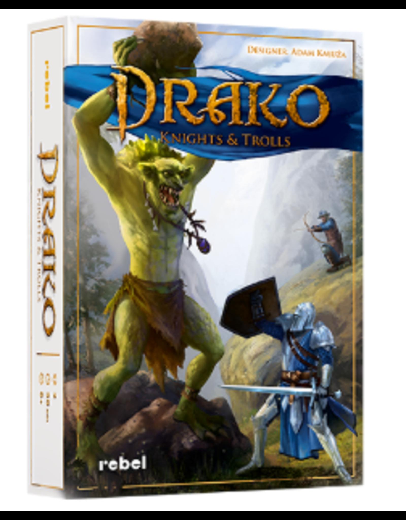 Asmodee Drako: Knights and Trolls