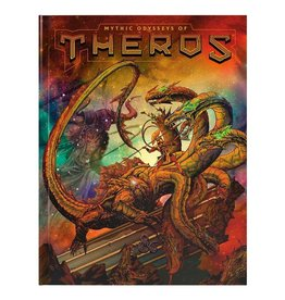 Wizards of the Coast D&D 5th Edition: Mythic Odysseys of Theros Hard Cover - Alternate Cover