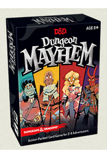 Wizards of the Coast D&D Dungeon Mayhem Card Game display