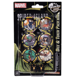 Wizkids Marvel HeroClix: Secret Wars - Battleworld Dice & Token Pack