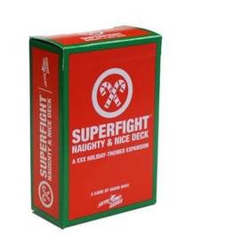 Skybound Games SUPERFIGHT: The Naughty & Nice Deck