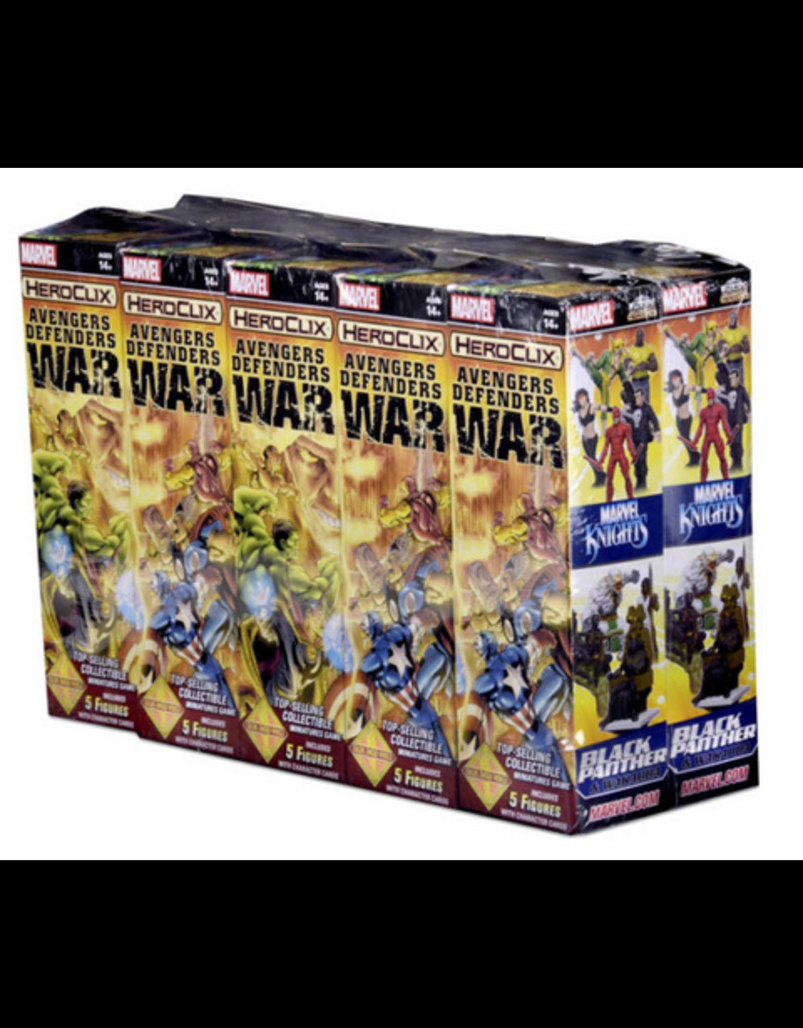Wizkids Marvel HeroClix: Avengers/Defenders War Booster Brick