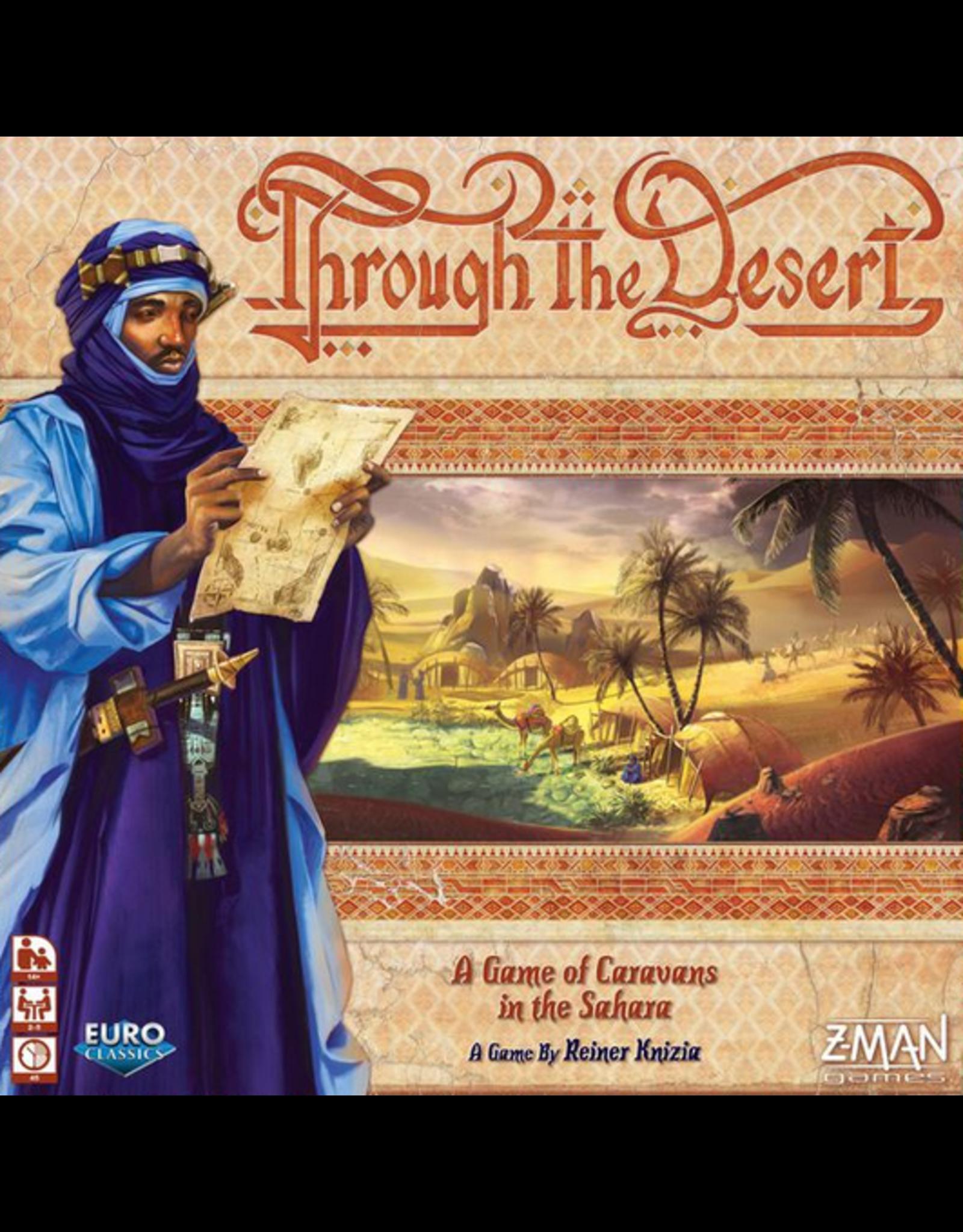 Z-Man Games Through the Desert