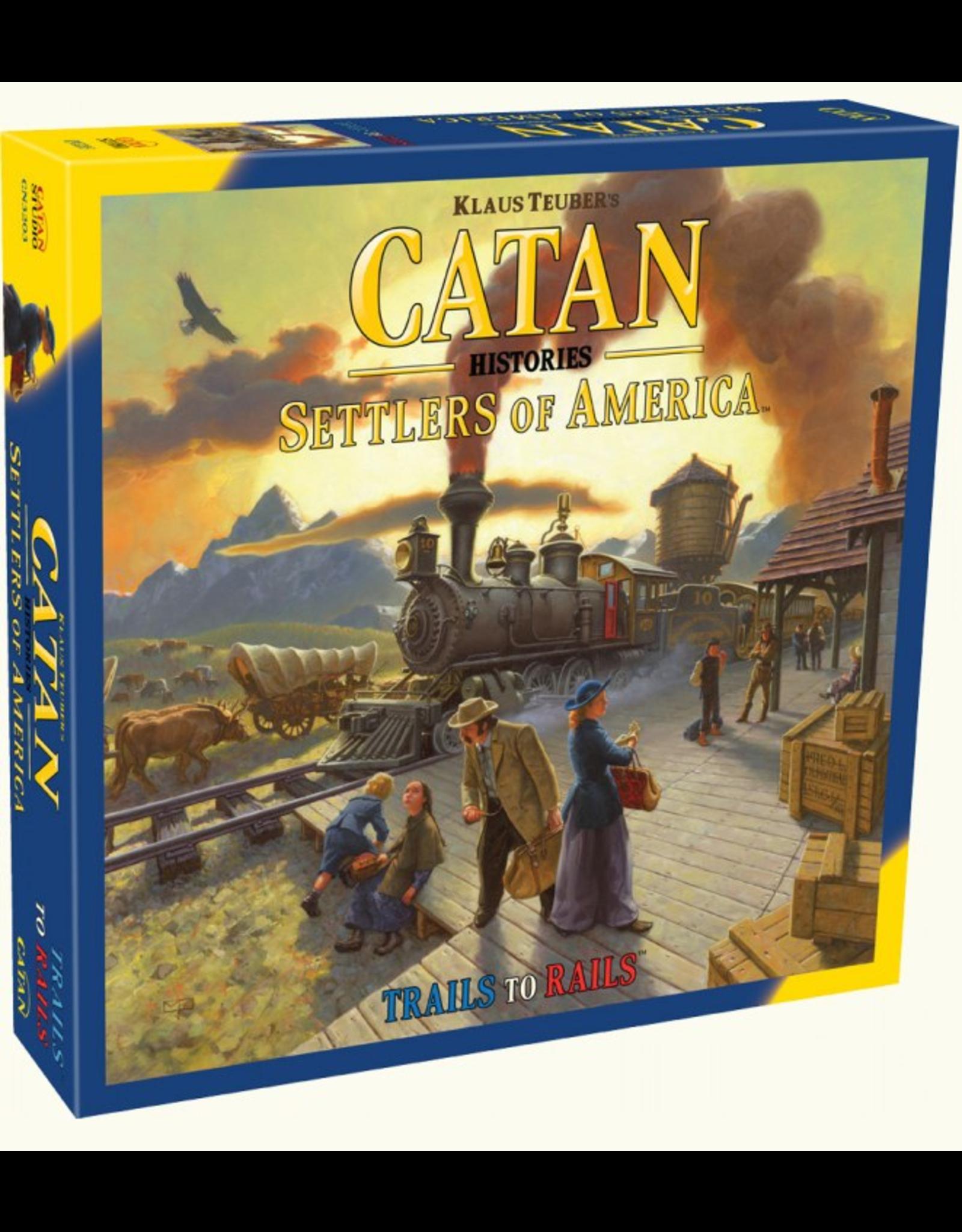 Catan Studios Catan Histories: Settlers of America Trails to Rails