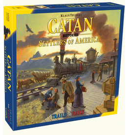 Catan Studios Catan Histories: Settlers of America Trails to Rails