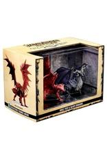 Wizkids Pathfinder Battles: Premium Figure Adult Red & Black Dragons