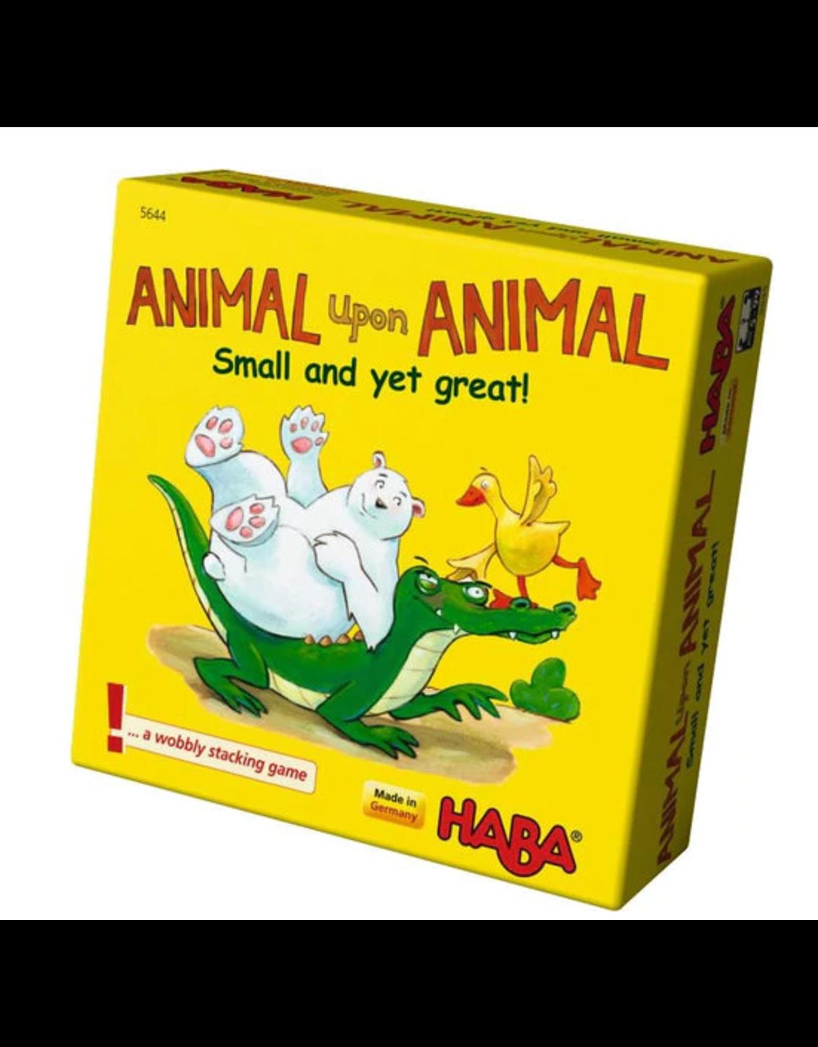 Haba Animal Upon Animal: Small Yet Great