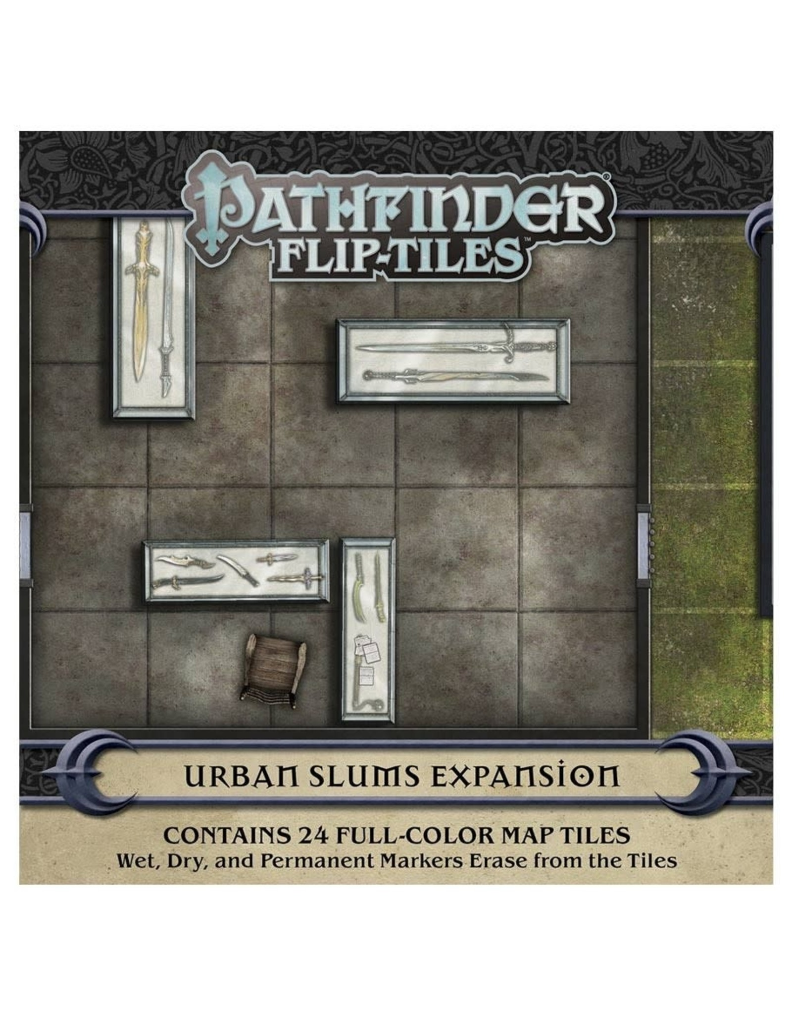 Paizo Pathfinder RPG: Flip-Tiles - Urban Slums Expansion
