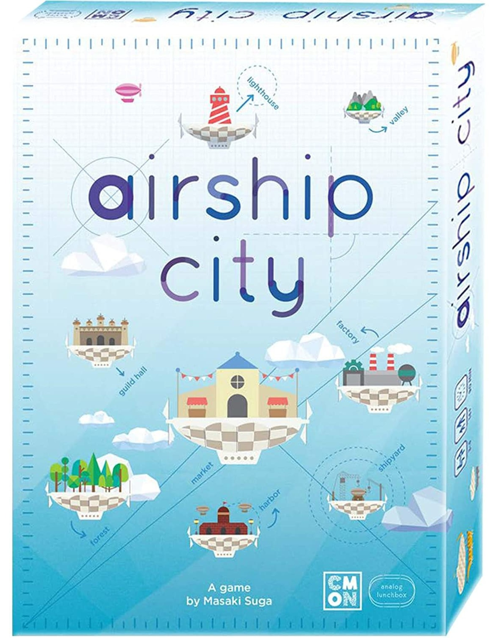 Cool Mini or Not Airship City