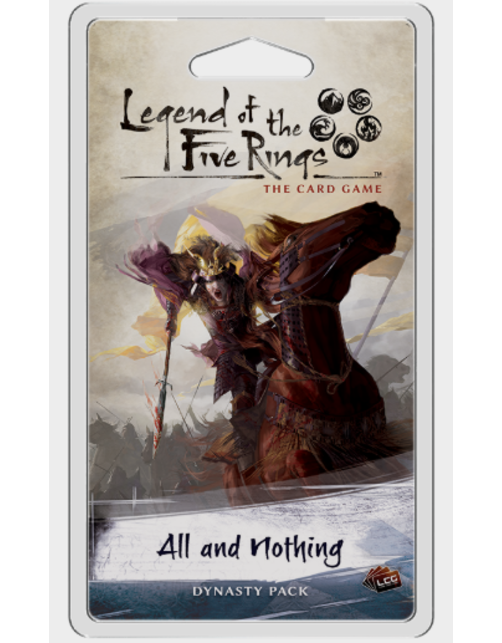 Fantasy Flight Games Legend of the Five Rings LCG: All and Nothing Dynasty Pack