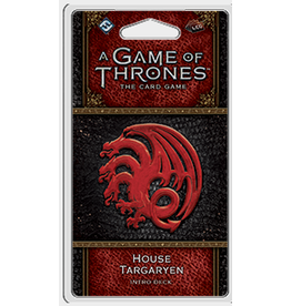 Fantasy Flight Games A Game of Thrones: LCG 2nd Edition - House Targaryen Intro Deck