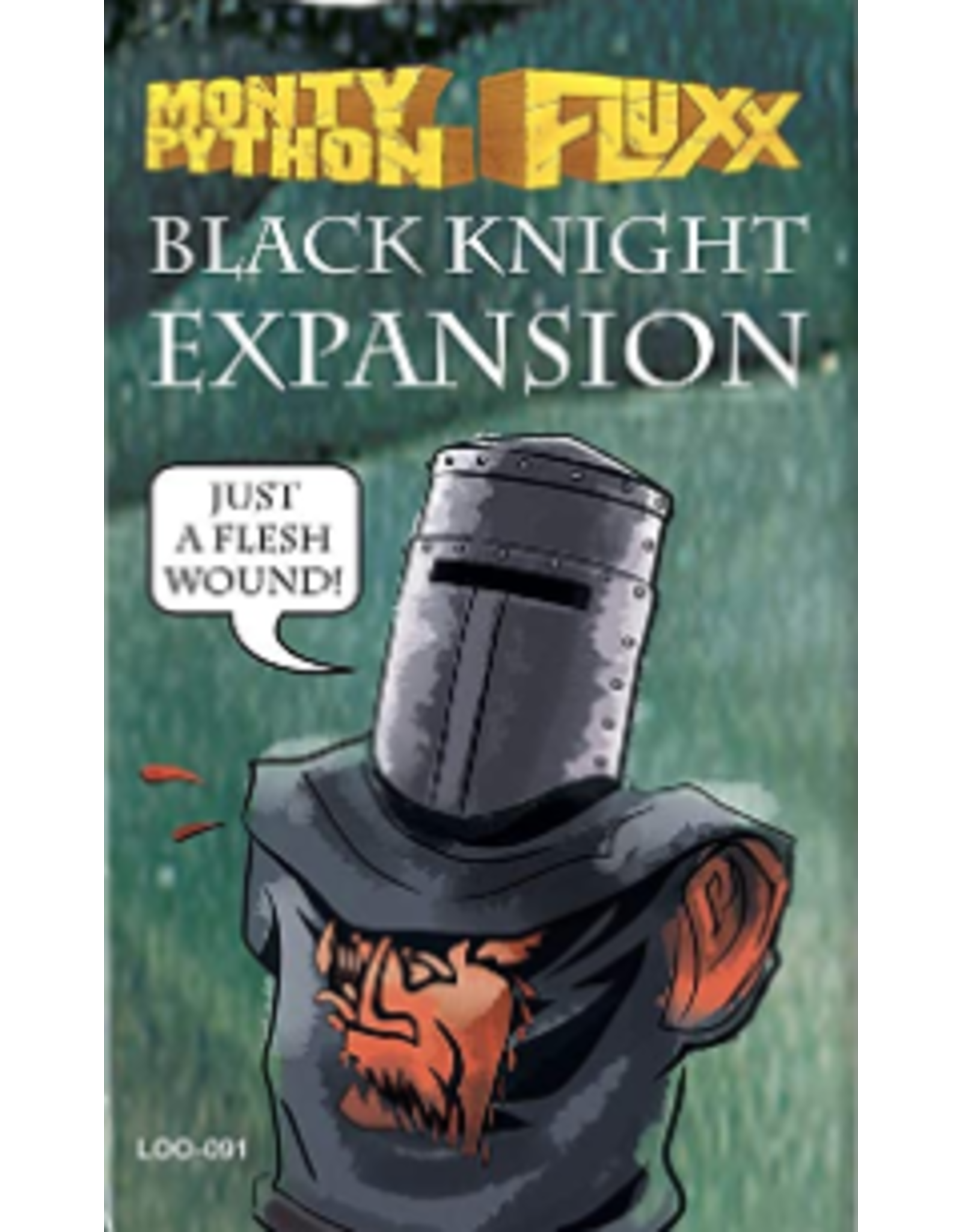 Looney Labs Monty Python Fluxx: Black Knight Expansion