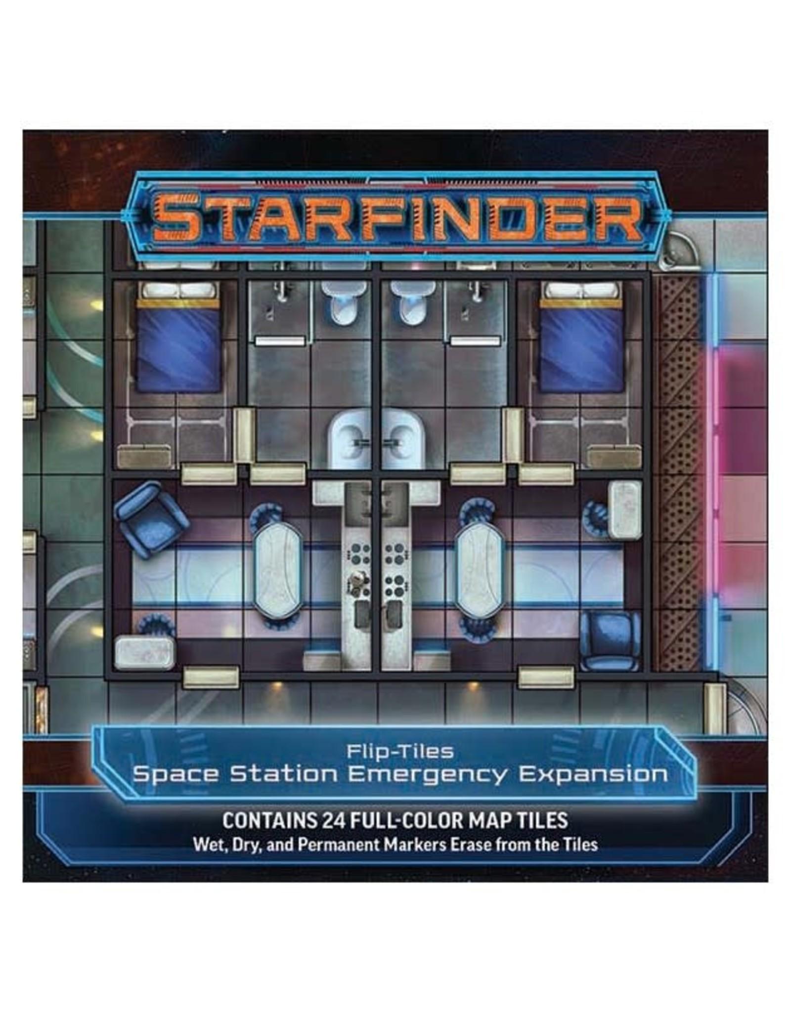 Paizo Starfinder RPG: Flip-Tiles - Space Station Emergency Expansion