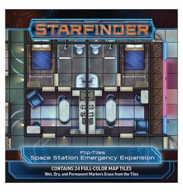 Paizo Starfinder RPG: Flip-Tiles - Space Station Emergency Expansion