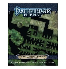 Paizo Pathfinder RPG: Flip-Mat - Haunted Dungeons Multi-Pack