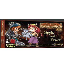 Slugfest Games Red Dragon Inn: Allies - Spyke & Flower
