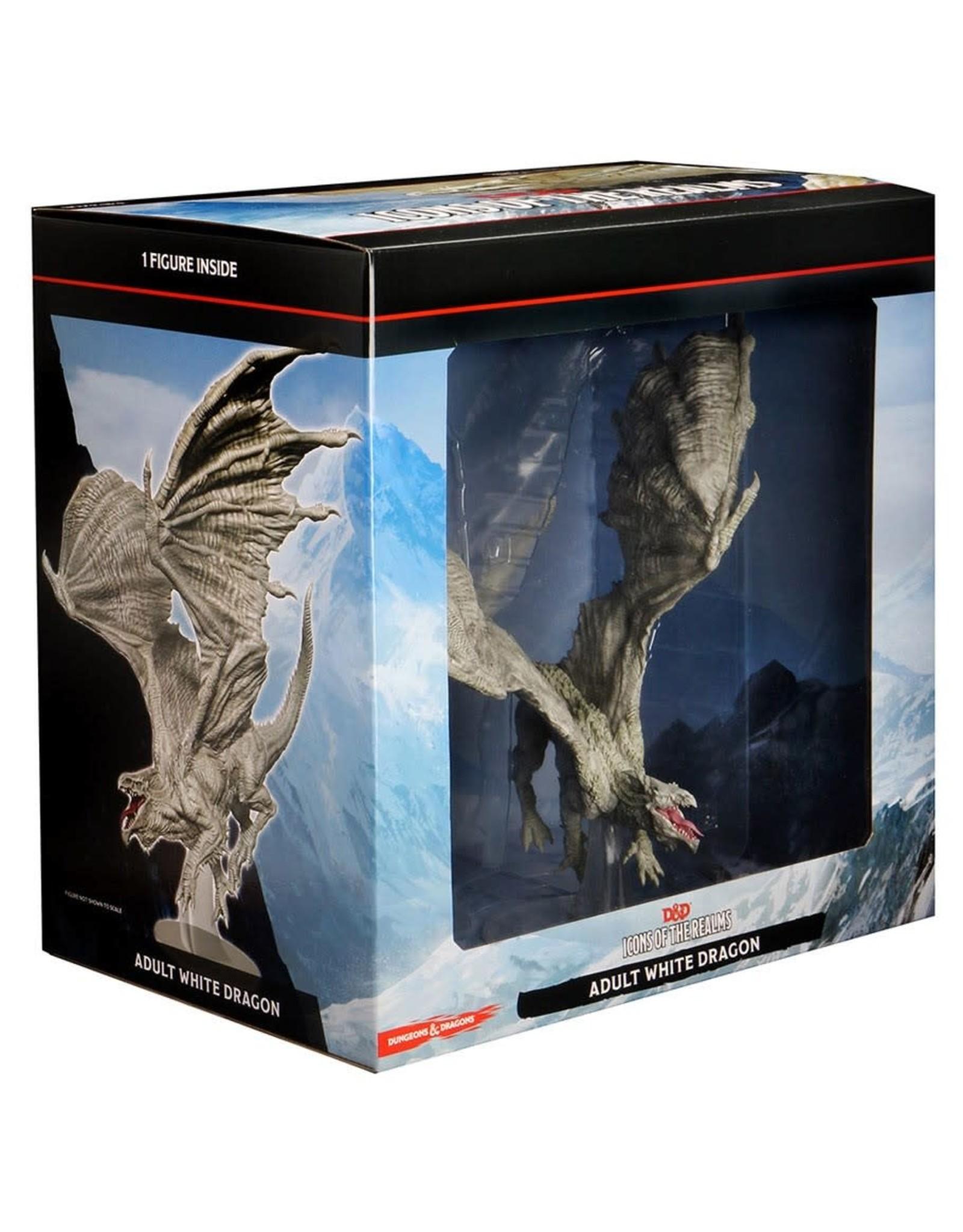 Wizkids D&D Minis: Adult White Dragon - Icons of the Realms Premium Figure
