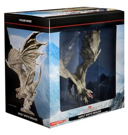 Wizkids D&D Minis: Adult White Dragon - Icons of the Realms Premium Figure