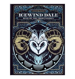 Wizards of the Coast D&D 5th Ed: Icewind Dale - Rime of the Frostmaiden - Alternate Cover