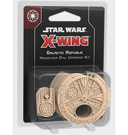 Fantasy Flight Games Star Wars X-Wing: 2nd Edition - Galactic Republic Maneuver Dial Upgrade Kit