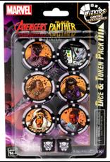 Wizkids Marvel HeroClix: Avenger Black Panther and the Illuminati Dice & Token Pack