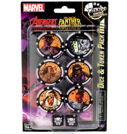 Wizkids Marvel HeroClix: Avenger Black Panther and the Illuminati Dice & Token Pack