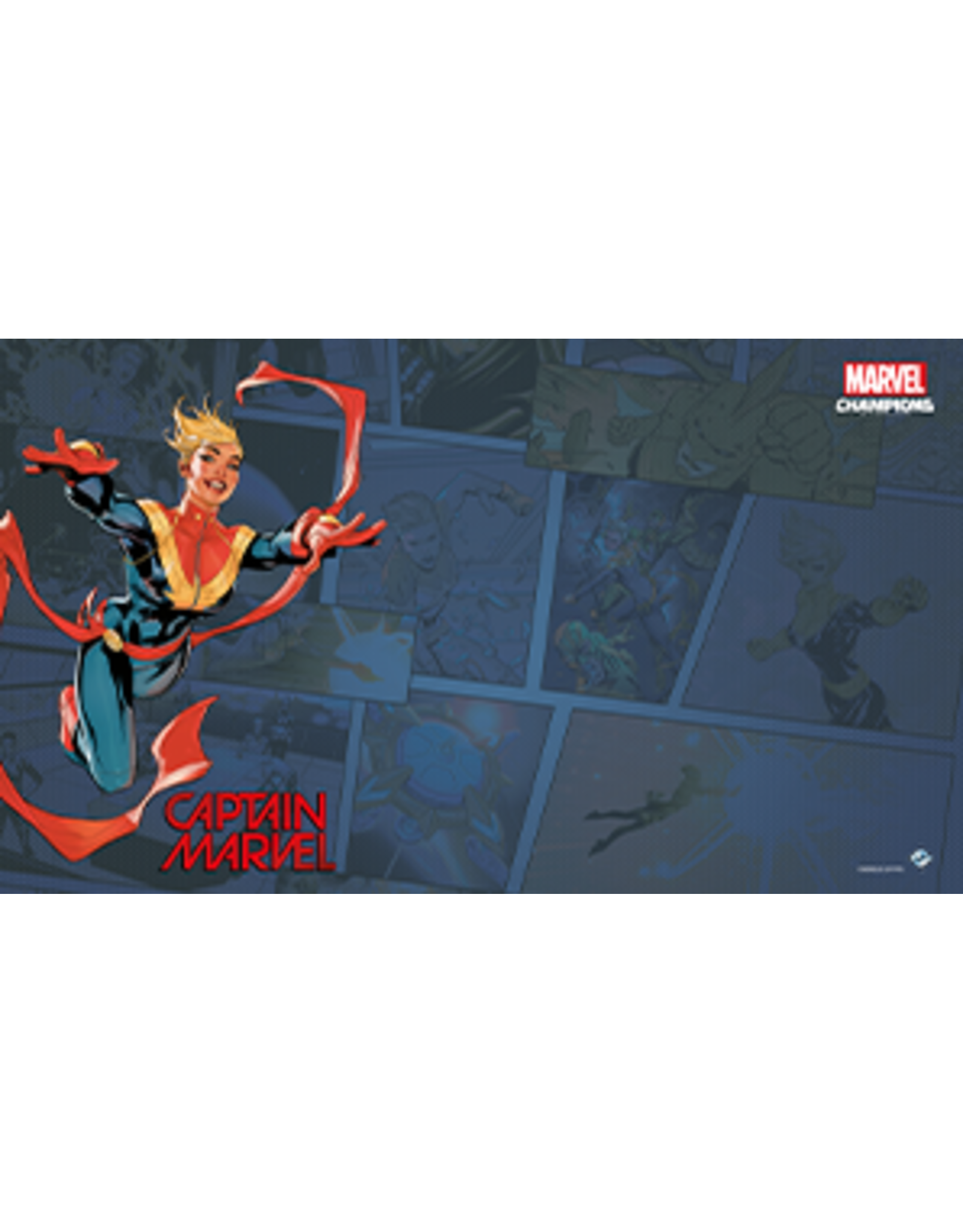 Fantasy Flight Games Marvel Champions LCG: Captain Marvel Game Mat
