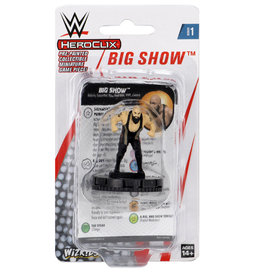 Wizkids WWE HeroClix: Big Show Expansion Pack