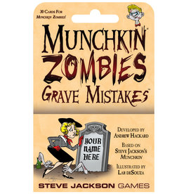 Steve Jackson Games Munchkin Zombies: Grave Mistakes