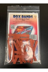 Flying Buffalo Box Bands 4'' Red (small)