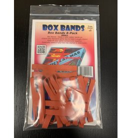 Flying Buffalo Box Bands 4'' Red (small)