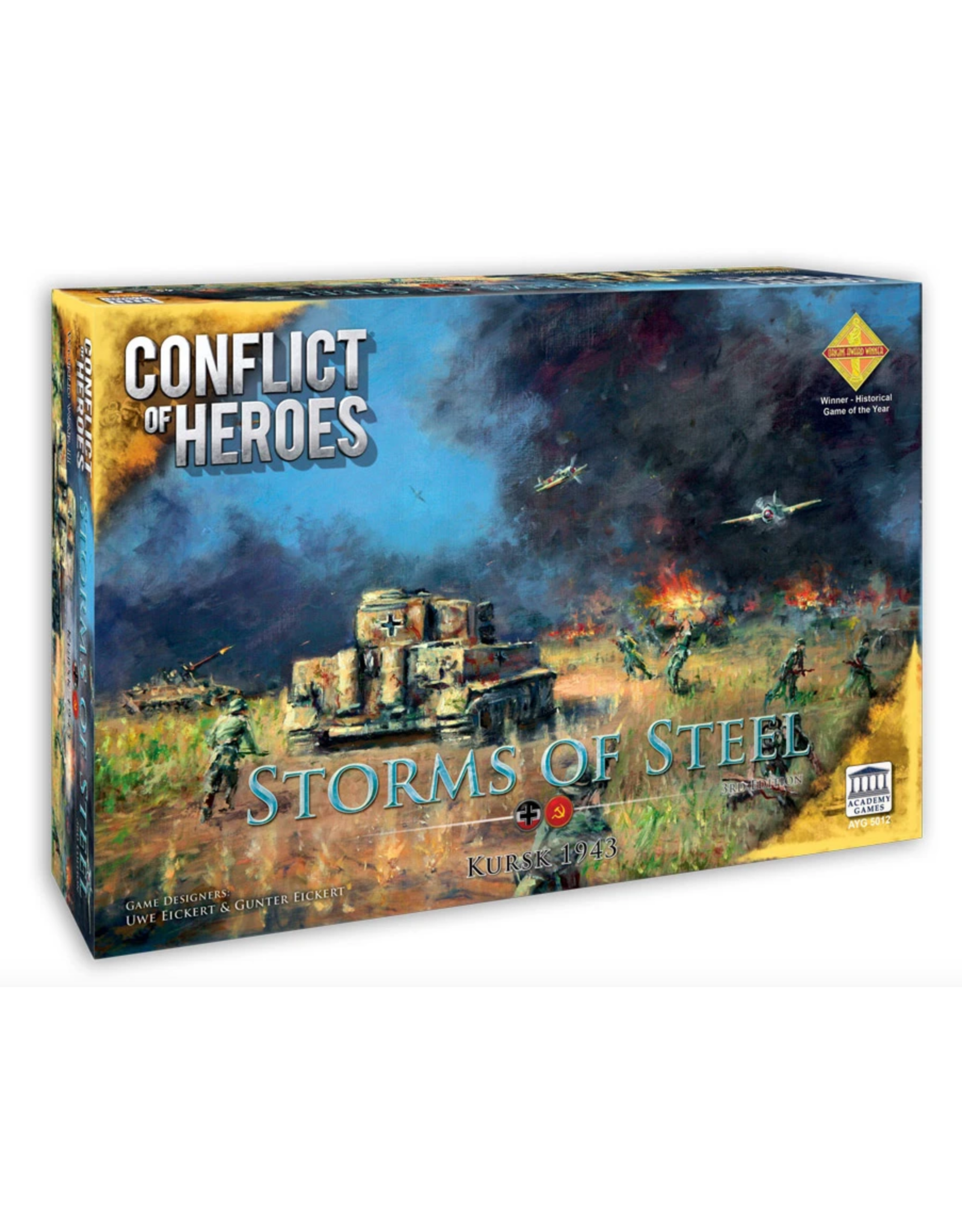Academy Games Conflict of Heroes: Storms of Steel - Kursk 1943 3nd Edition