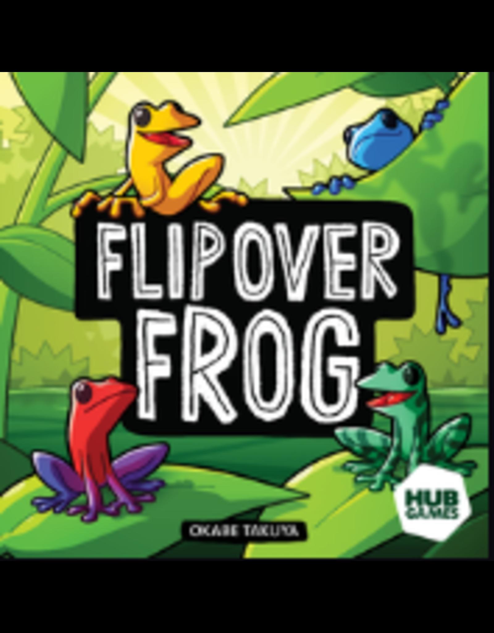 Asmodee Flip Over Frog