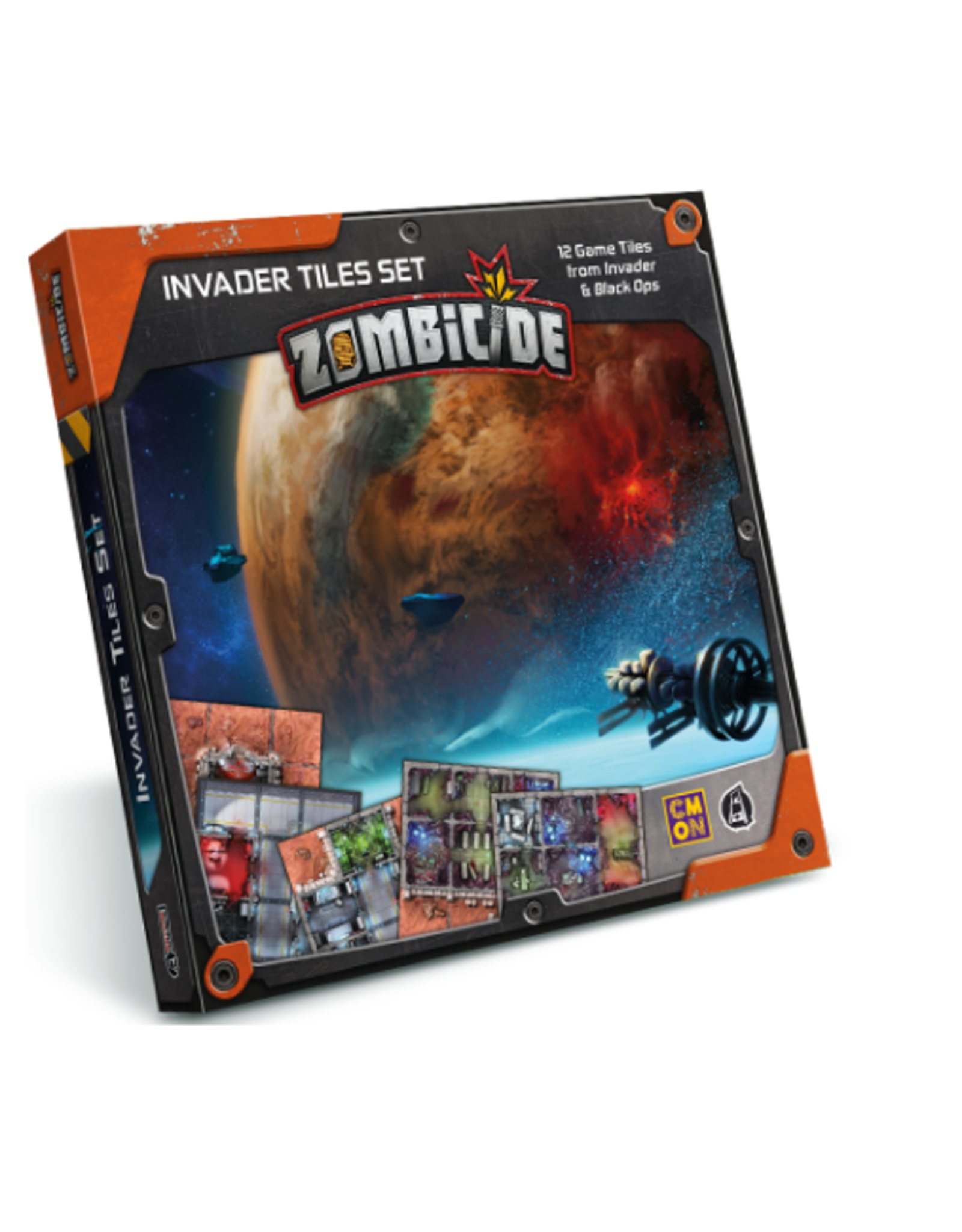 Cool Mini or Not Zombicide: Invader - Tiles