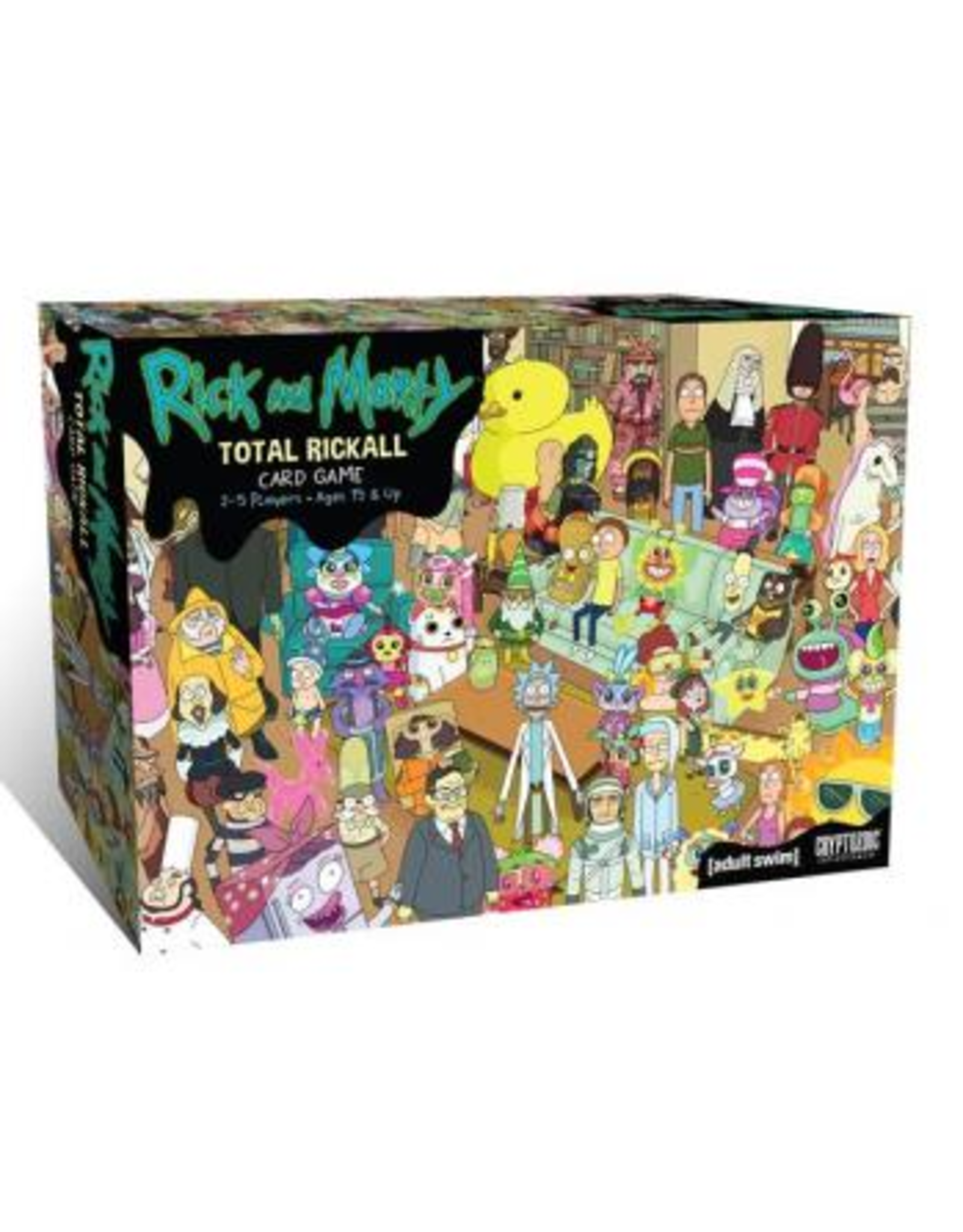 Cryptozoic Rick and Morty: Total Rickall Cooperative Card Game