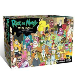 Cryptozoic Rick and Morty: Total Rickall Cooperative Card Game