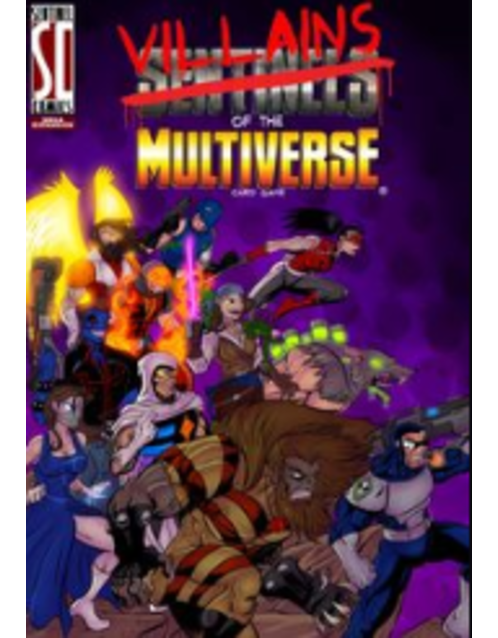Greater/Than/Games Sentinels of the Multiverse: Villains of the Multiverse