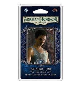 Fantasy Flight Games Arkham Horror LCG: Nathaniel Cho Investigator Starter Deck