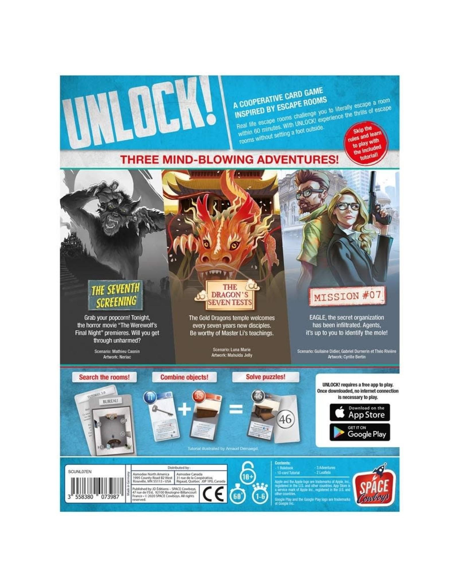 Asmodee Unlock! Epic Adventures