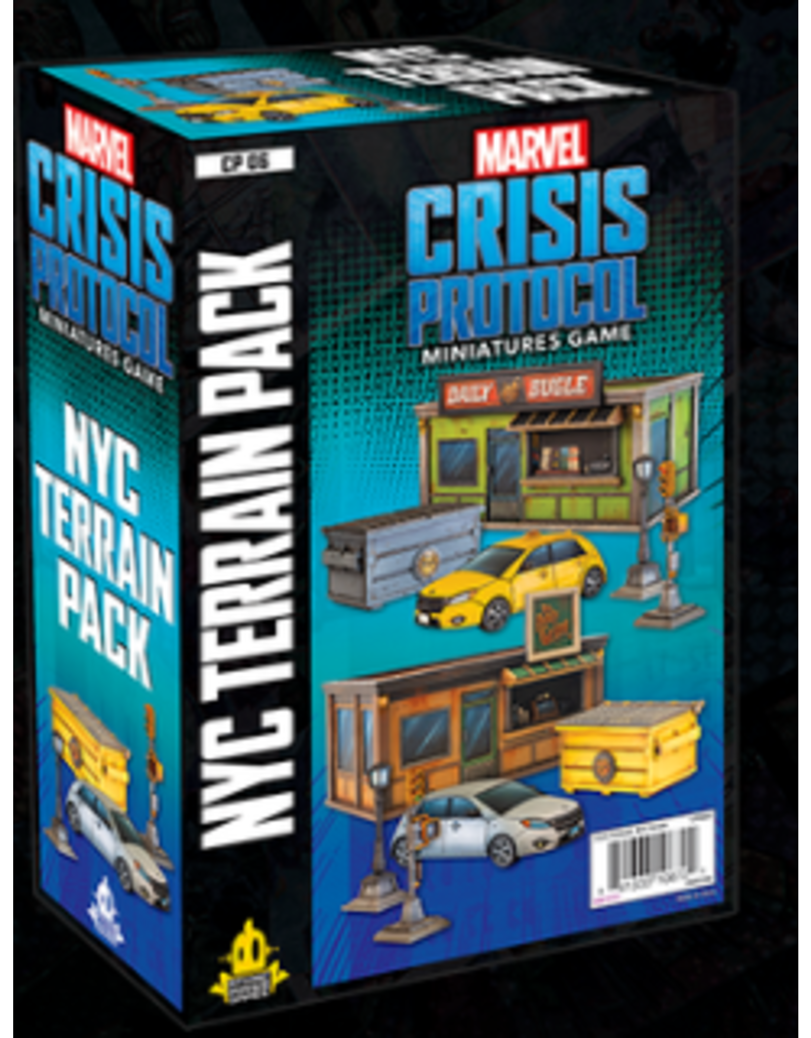 Atomic Mass Games NYC Terrain Pack - Marvel Crisis Protocol