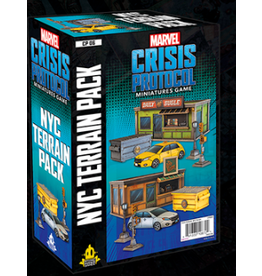 Atomic Mass Games Marvel: Crisis Protocol - New York City (NYC) Terrain