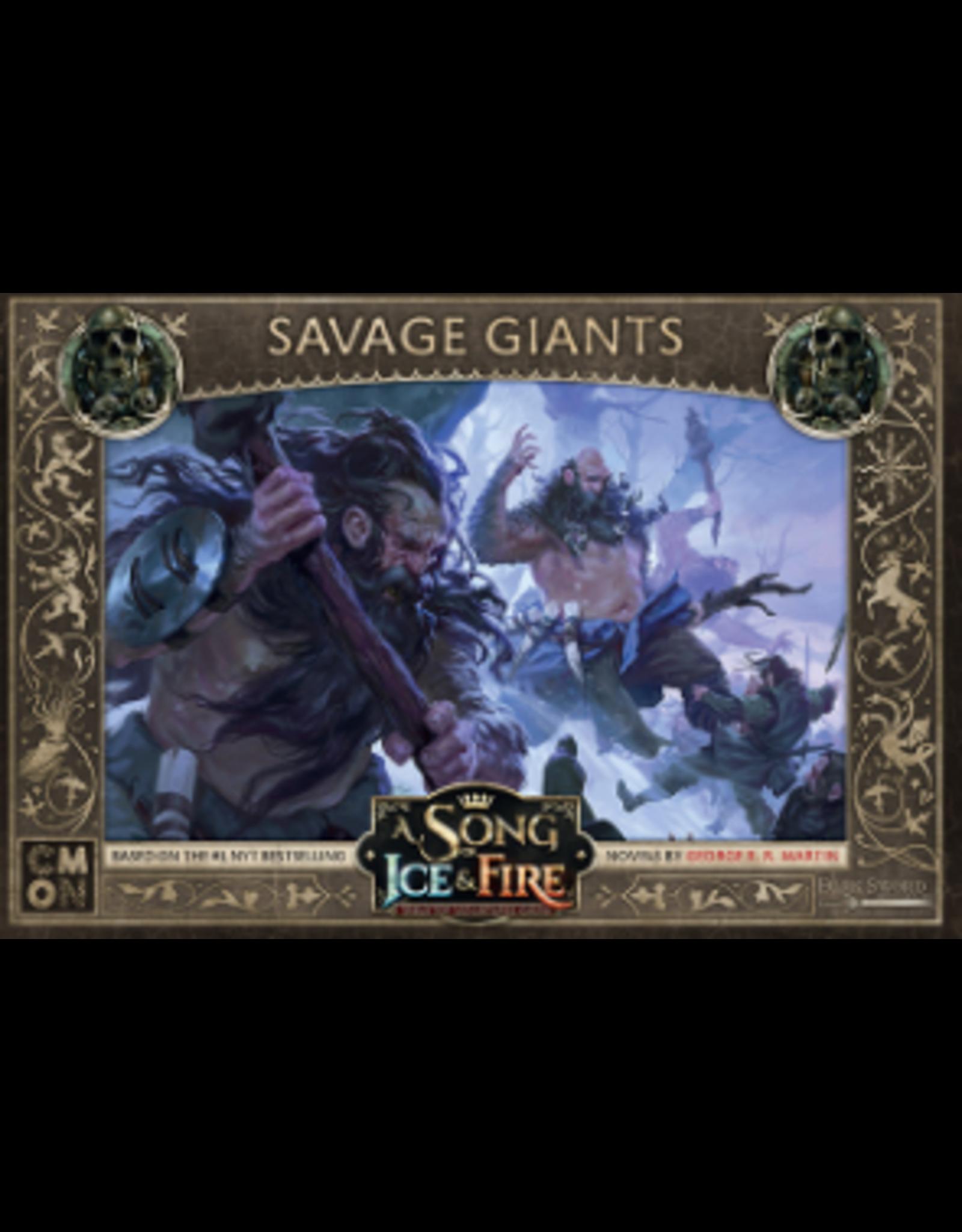 Cool Mini or Not ASoIaF: TMG: Free Folk Savage Giants