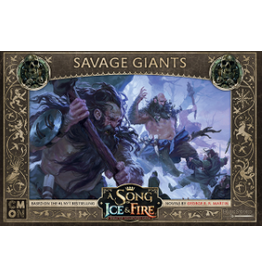 Cool Mini or Not A Song of Ice & Fire Tabletop Miniatures Game: Savage Giants