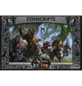 Cool Mini or Not A Song of Ice & Fire Tabletop Miniatures Game: Night's Watch Conscripts