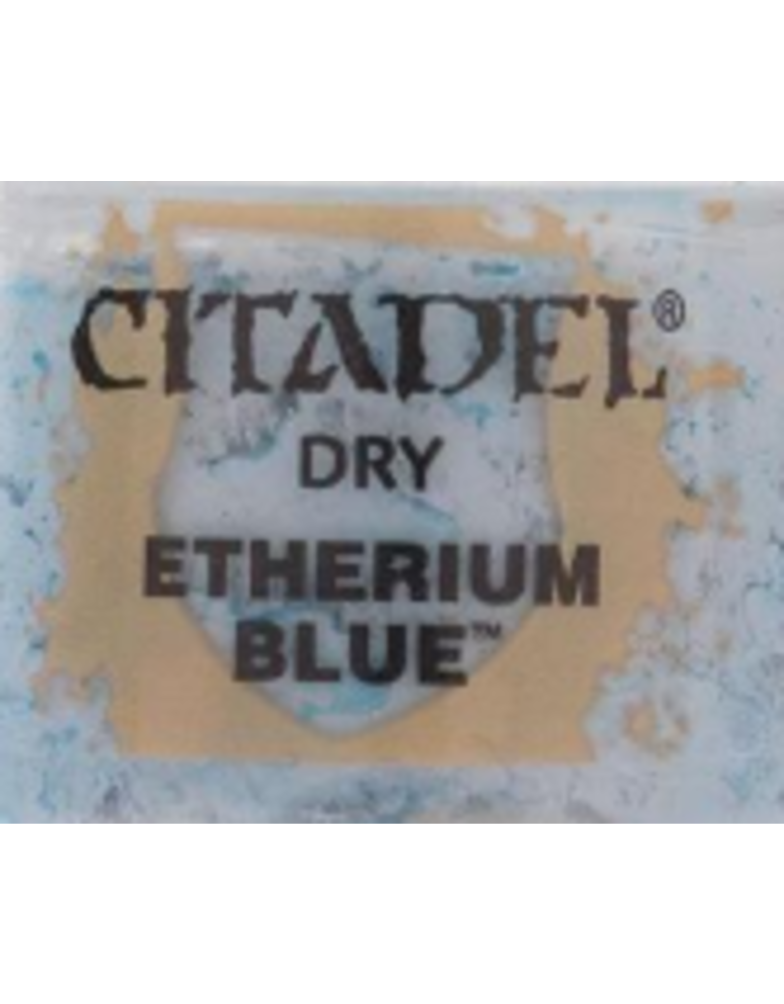 Games Workshop Citadel Dry Etherium Blue