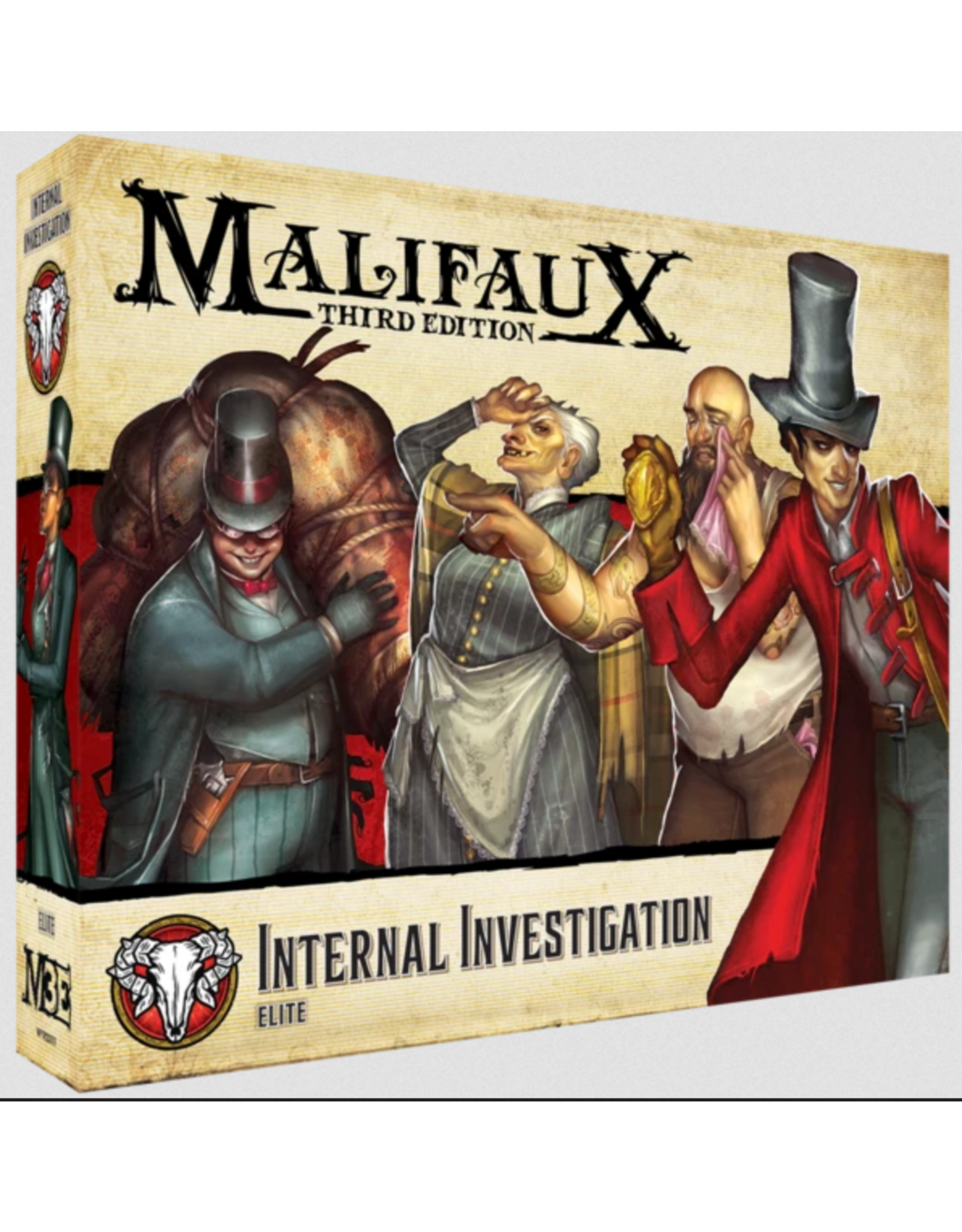 Wyrd Miniatures Malifaux: Guild Internal Investigation
